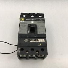 Square D KAL361251021 Used 3P 125A 600V Breaker 120-240V Shunt WARRANTY!! A40