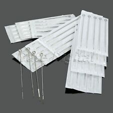 100Pcs Mix Assorted Sizes Disposable Tattoo Needles 3 5 7 9 RL 5 7 9 RS 5 7 9 M1