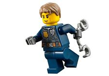 LEGO City MiniFigure: Police - Chase McCain (Dark Blue Uniform) 60138