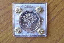 MONETA REPUBBLICA ITALIANA 500 LIRE 1986 ANNO DELLA PACE PROOF SUBALPINA