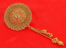 HP-74 Indian Ethnic Bollywood Gold Tone Jooda Hair Pin Wedding Women Jewelry