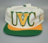 Vermont Catamounts NCAA Twins Enterprise Vintage 90's Snapback Cap Hat - NWT