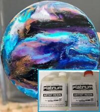 EPOXY ARTIST RESIN - SUPER CLEAR *low bubble coating - UV stable 1 ltr kit