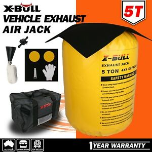 X-BULL Exhaust Jack Recovery Jack 5T Air Bag Multi Layer Truck Rescue Kit 4WD