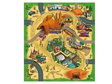 Jeu tapis 80 x 70 cm playmat world Desert tapis désert MAJORETTE