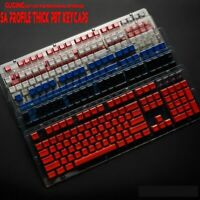 104 Key SA Height Profile Thick PBT Profile Keycaps Backlit For Cherry mx Switch