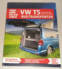 Anleitung Wohnmobil Innenausbau Selbstausbau VW Bus Transporter Caravelle T5