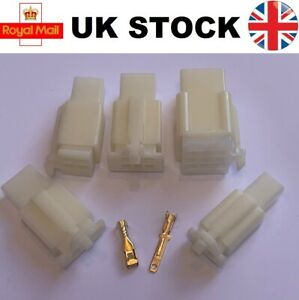 2.8mm Connector 2 3 4 6 9 Way Mini Latch Motorbike Motorcycle Moped Car