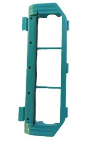 Tapa soporte rodillo principal Cecotec Conga 3090. Semineuvo