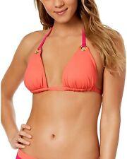 Lauren Ralph Lauren Womens Beach Club Halter Bikini Top 14 Pink