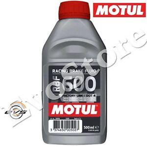 MOTUL RBF 600 DOT 4 Olio Freni e Frizioni Idrauliche Sintetico Auto Moto 500ml