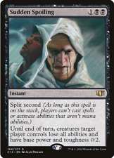 Magic the Gathering MTG - Black - Sudden Spoiling - Commander 2014 - Instant