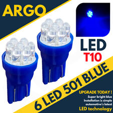 7 LED XENON BLUE 501 194 T10 W5W SIDELIGHT BULBS CITROEN C4 GRAND PICASSO