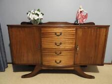 ANTIQUE VINTAGE ART DECO SIDEBOARD BUFFET DRESSER TV STAND HALL CABINET TABLE