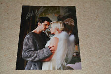 HANNAH SPEARRITT & ANDREW LEE POTTS signed Autogramm 20x25 cm In Person PRIMEVAL