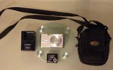 Panasonic Lumix DMC-FX01 Silver Used w/ Lowepro Z-10 Compact Case,Batt,Charger