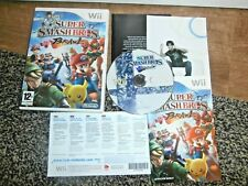 Super Smash Bros. Brawl ~ Mario ~ NINTENDO Wii ~ Excelente, Completa con puntos sin usar