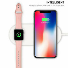 Wireless Charging Dock Stand Charger for iWatch 2/3 Iphone X 8 8+ Apple Samsungs