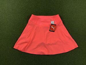 Puma Pwrshape Solid Woven Skirt Ignite Pink Women's SZ S ( 595853 22 )