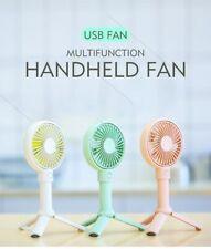 Portable Mini Handheld Fan USB Rechargeable Summer Cooling Desktop Fan