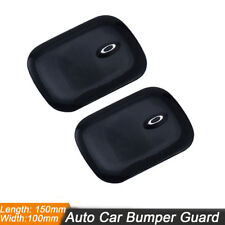 2x Car Bumper Guard Anti-scratch Rubber Protector Self Adhesive Backs Universal