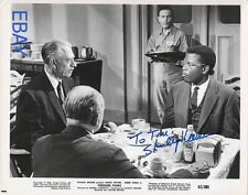 Stanley Kramer autograph Pressure Point VINTAGE Photo