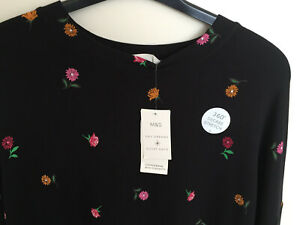 M&S Day Dreams & Duvet Days Soft Long Sleeve Floral Print Loungewear Pyjama Top