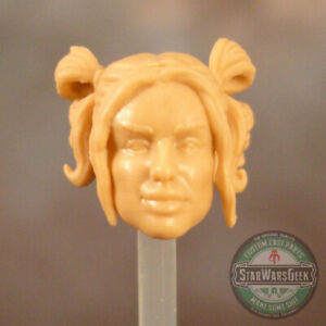 "FH083 Custom Cast Female head use with 3.75"" GI Joe Star Wars Marvel figures"