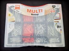 TOX Multi Monteur - Tri & Barracuda Spreizdübel Dübel-Set Universal + Schrauben