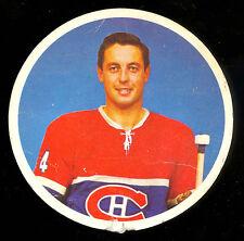 1962 EL PRODUCTO DISCS Jean Beliveau VG-EX MONTREAL CANADIENS HOCKEY hof