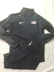 Nike Pro Elite USA lightweight  tracksuit size small very rare track and field
