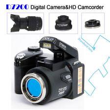 Polo SharpShots D7200 13MP 20X Digital Camera+3Lens 1080P Built-in LED Spotlight