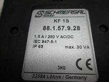 Pédale STEUTE KF 1S  88.1.57.0.01 noir 1 contact