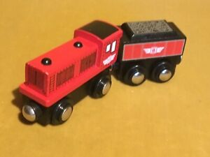 ENGINE & COAL TENDER WOODEN MAGNETIC Compatible With Thomas The Tank