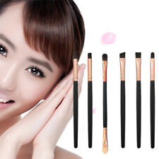 6PCS PRO MAKEUP COSMETICS BRUSHES SET FOR EYE SHADOWS EYELINER EYEBROW SMART