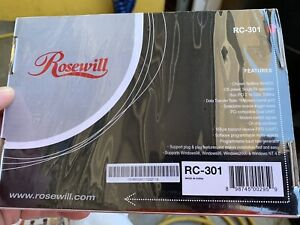 NEW Rosewill 2 Port Serial PCI Adapter RC-301