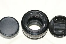 Nikon Nikkor 50mm f1.4 AI Fast Prime Lens