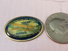 CENTENNIAL OF FLIGHT DAYTON OHIO BIRTHPLACE OF AVIATION 1903-2003 PIN