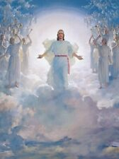 JESUS THE SECOND COMING 8X10 CHRISTIAN ART GLOSSY PHOTO PICTURE