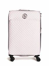 """Guess G-Lux 20"""" 8 roues Spinner Vertical valise, matelassée, Shell, RRP £ 280"""