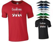 The Champions T Shirt Liverpool Football LFC Fans BPL Birthday Gift Men Tee Top