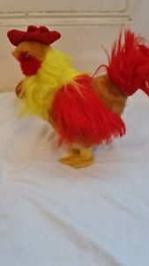Colourful Chicken Soft Toy Battery