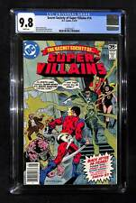 Secret Society of Super Villains #14 CGC 9.8 Gerry Conway story
