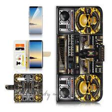 ( For Samsung S10e ) Wallet Flip Case Cover P21627 Boom Box Skeleton