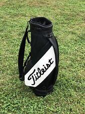 TITLEIST MIDSIZE CART STAFF BAG - 3 Way Divider Black