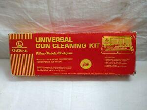 Vintage OUTERS Universal Gun Cleaning KIT w/ Hard Case Rifle Pistol Shotgun