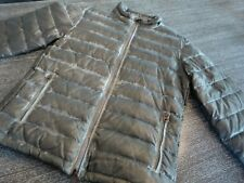 Coole graue Daunen/Stepp-Jacke im use_look von ARMANI JEANS Gr. 52