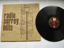 "Joe Daniels & his Hotshots ""Memphis Blues /University Rag"" 78 rpm"