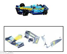 Scalextric W9220 Renault R25 F1 Rear Wing Spoiler, Barge Board & Nose Cone C2649