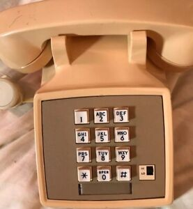 Vintage Push Button ITT Telephone
